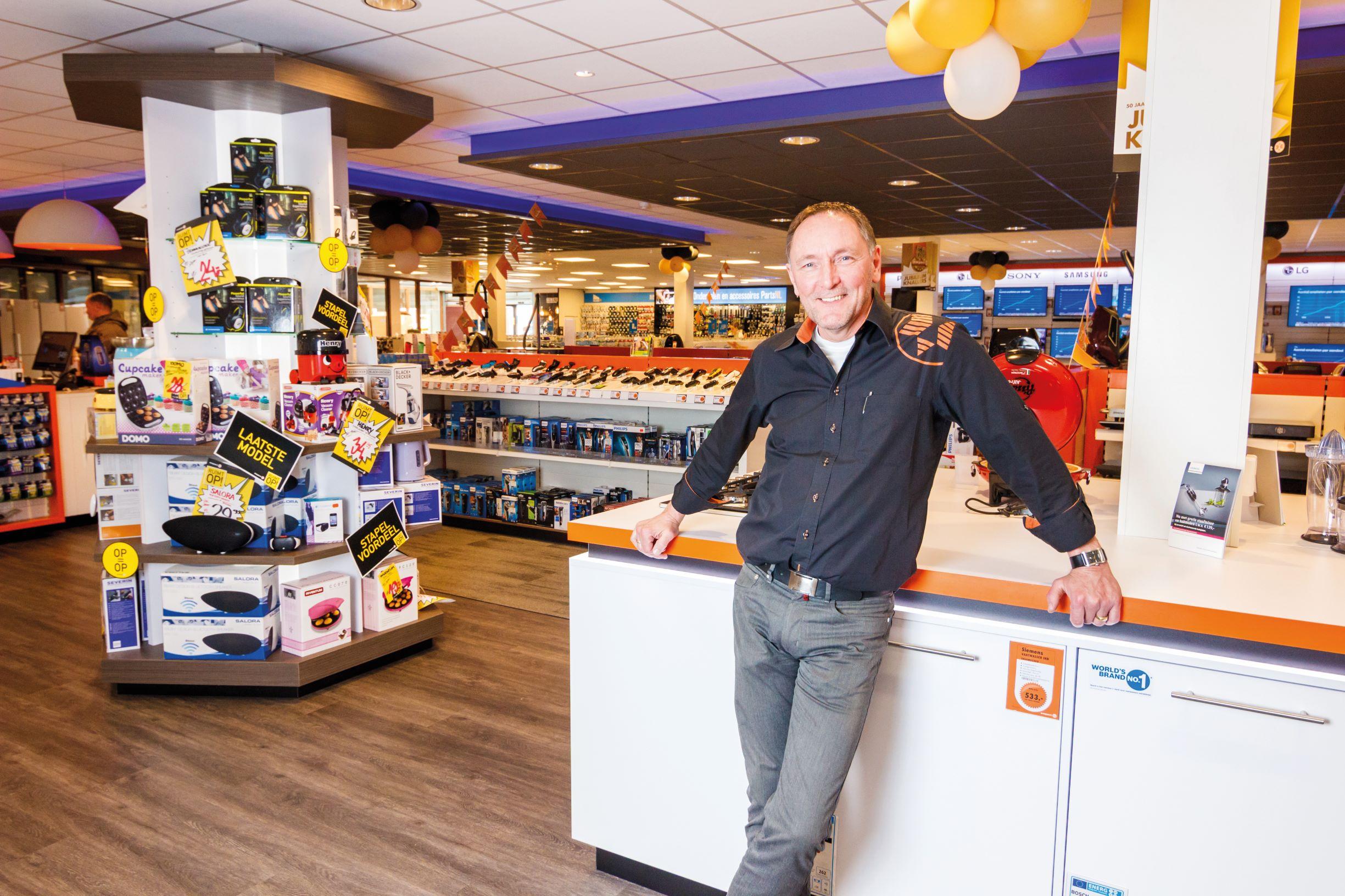 Consumentenelektronica winkel