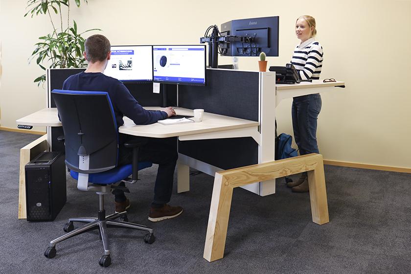 Comfortabel werken in Apeldoorn