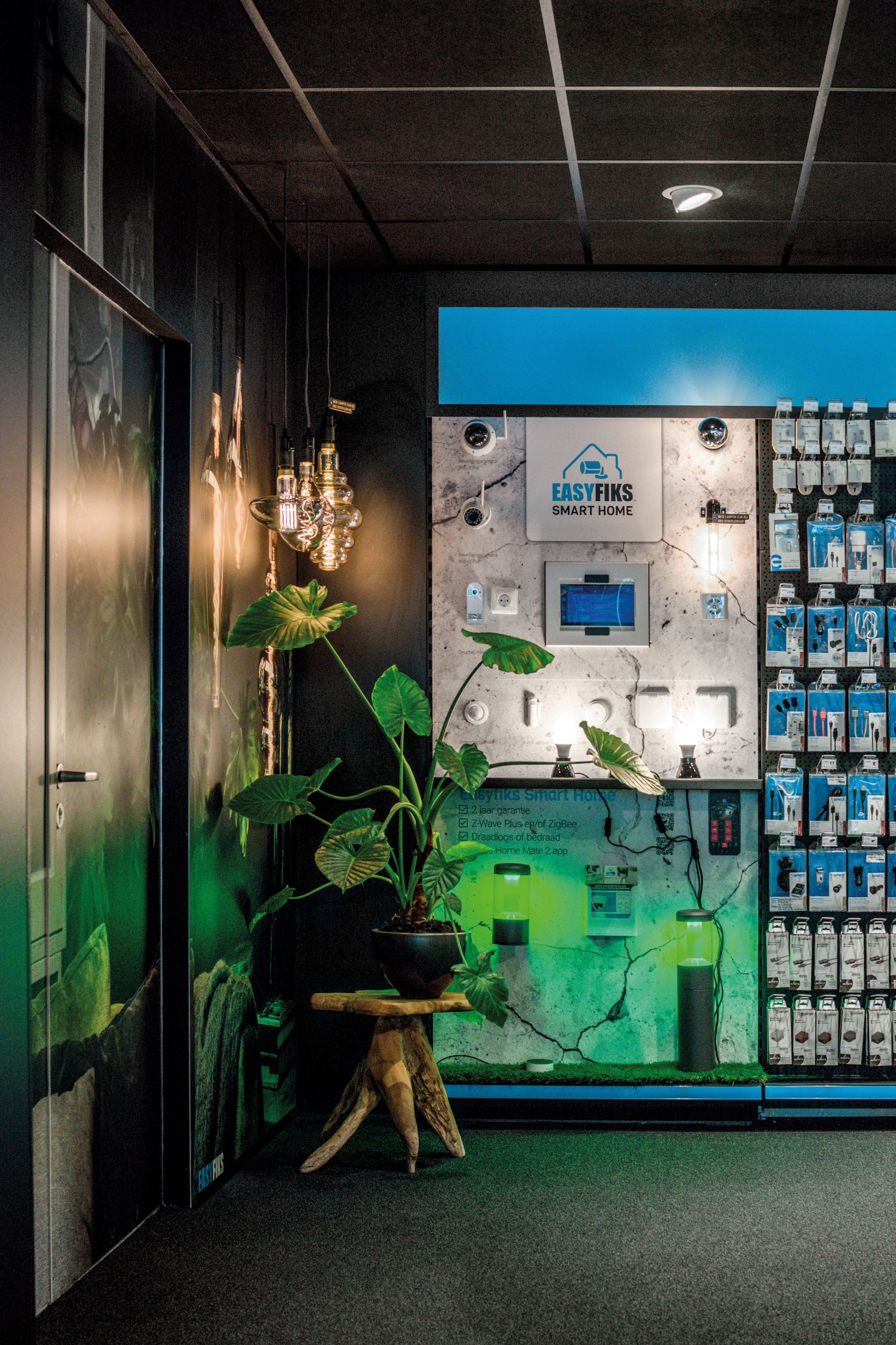 Easyfiks smart home winkel presentatie